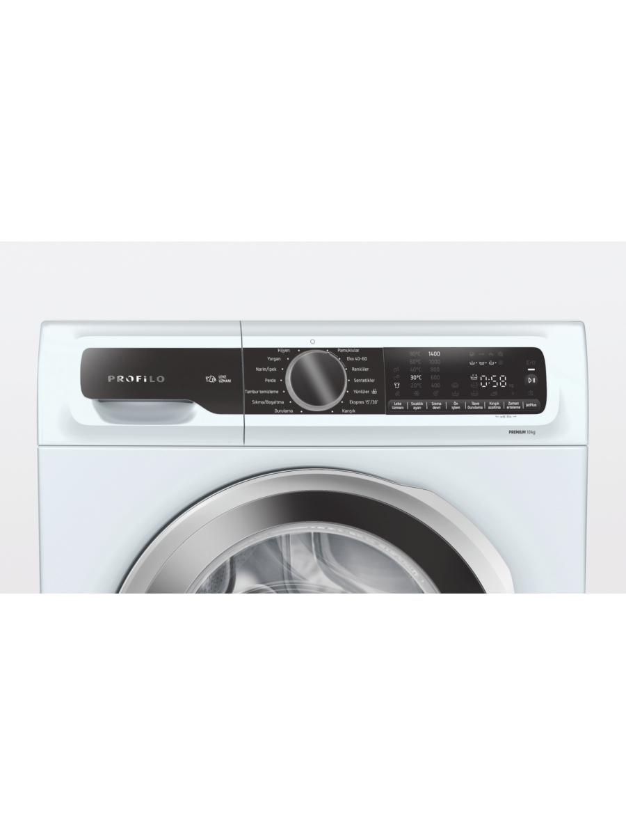 Profilo CGA254X0TR Çamaşır Makinesi 10 kg 1400 dev./dak.