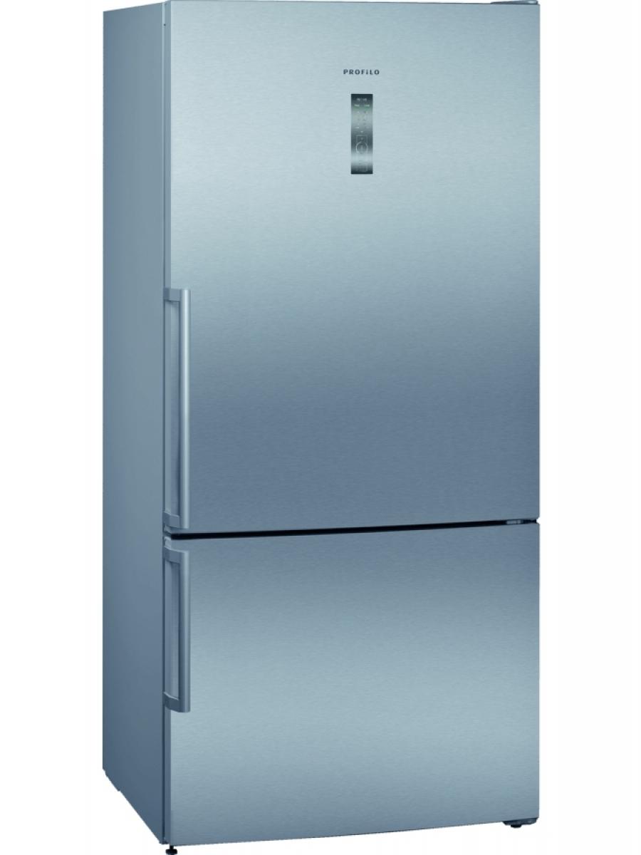 No-Frost, Alttan Donduruculu Buzdolabı Kombi İnox