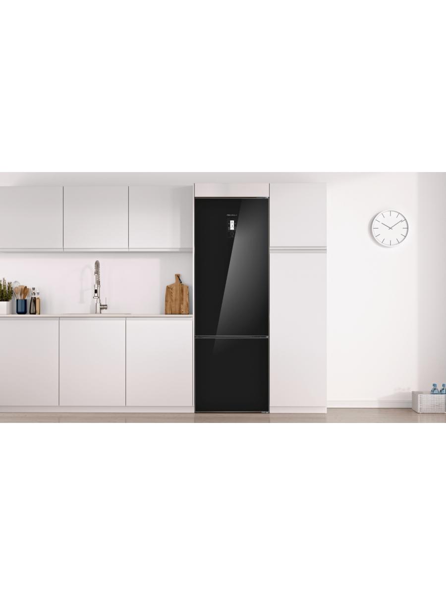 No-Frost, Alttan Donduruculu Buzdolabı Siyah Kapılar